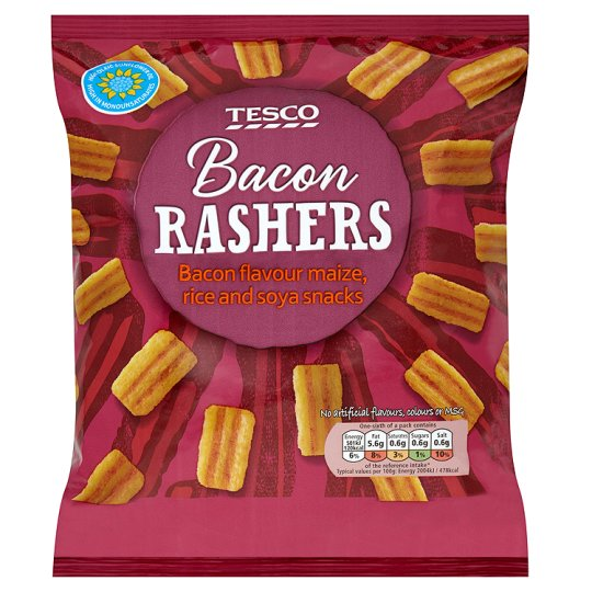 tesco bacon rashers